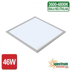 PANEL LED ALGINE SPECTRUM 46W 600x600mm NEUTRALNY
